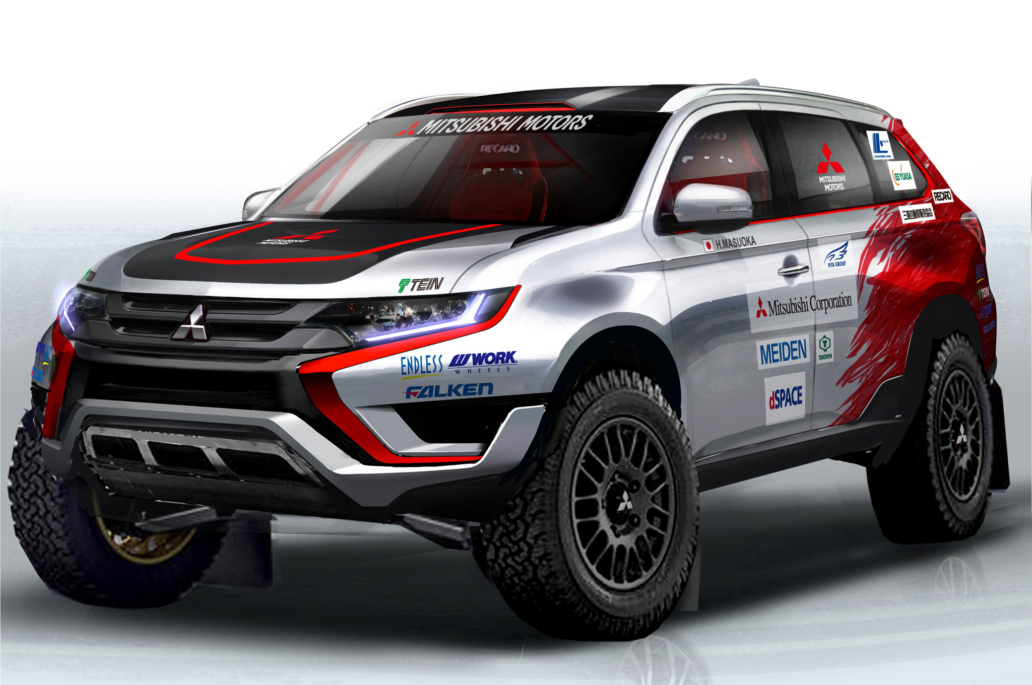 Mitsubishi Outlander PHEV to Contest Baja Portalegre 500 Rally