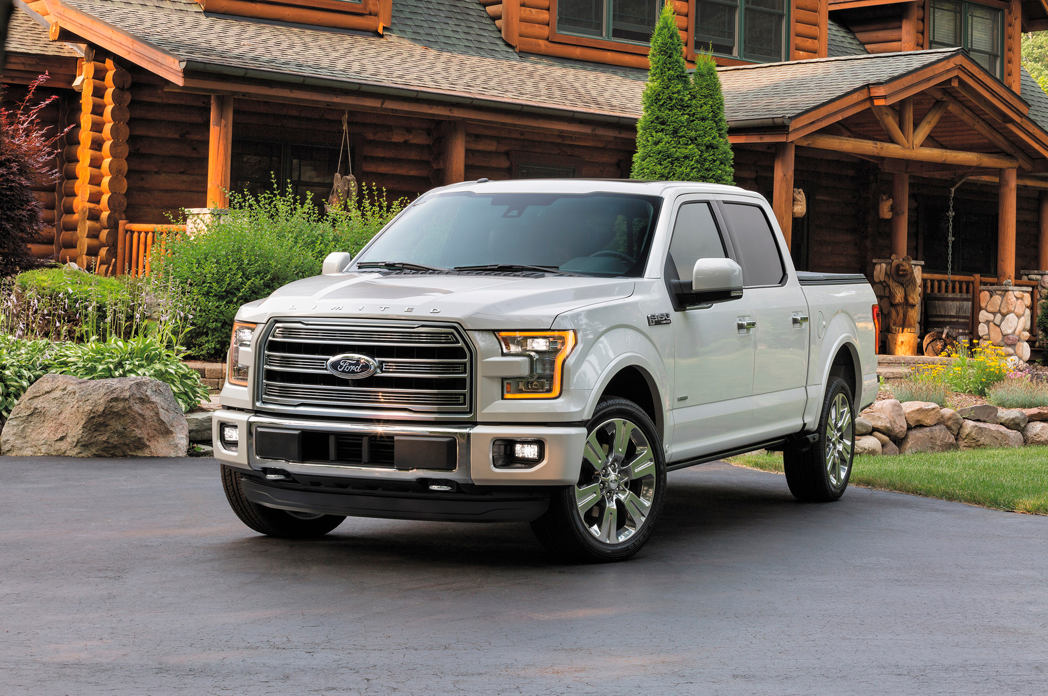 2016 Ford F 150 Limited Elevates Lux Truck Class With Massaging