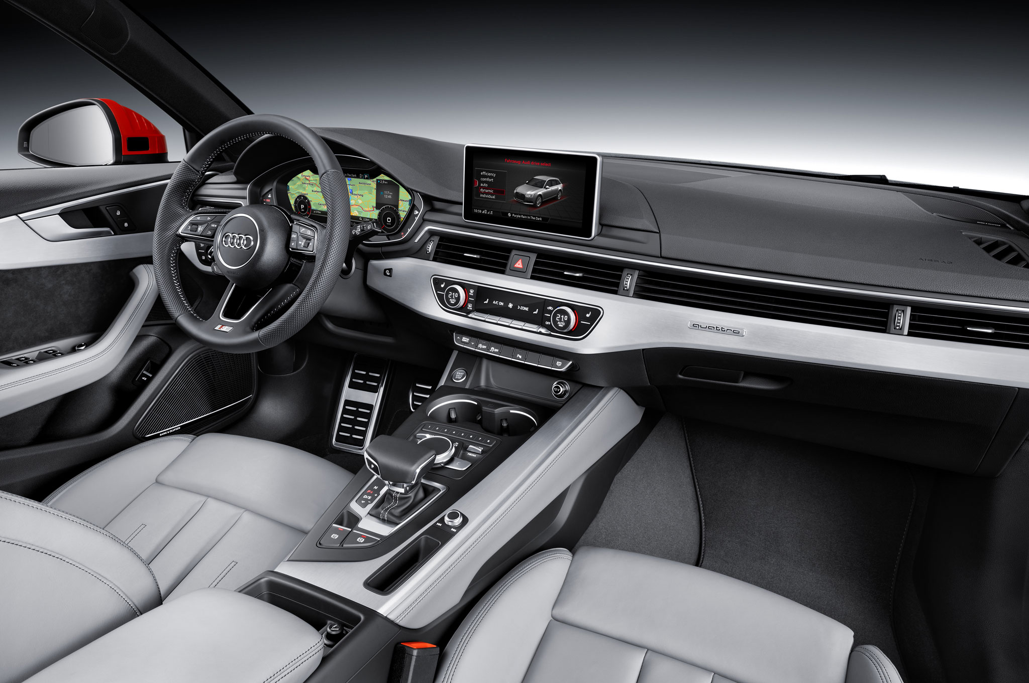 10 Cool Features Of The All New 2017 Audi A4 Motortrend