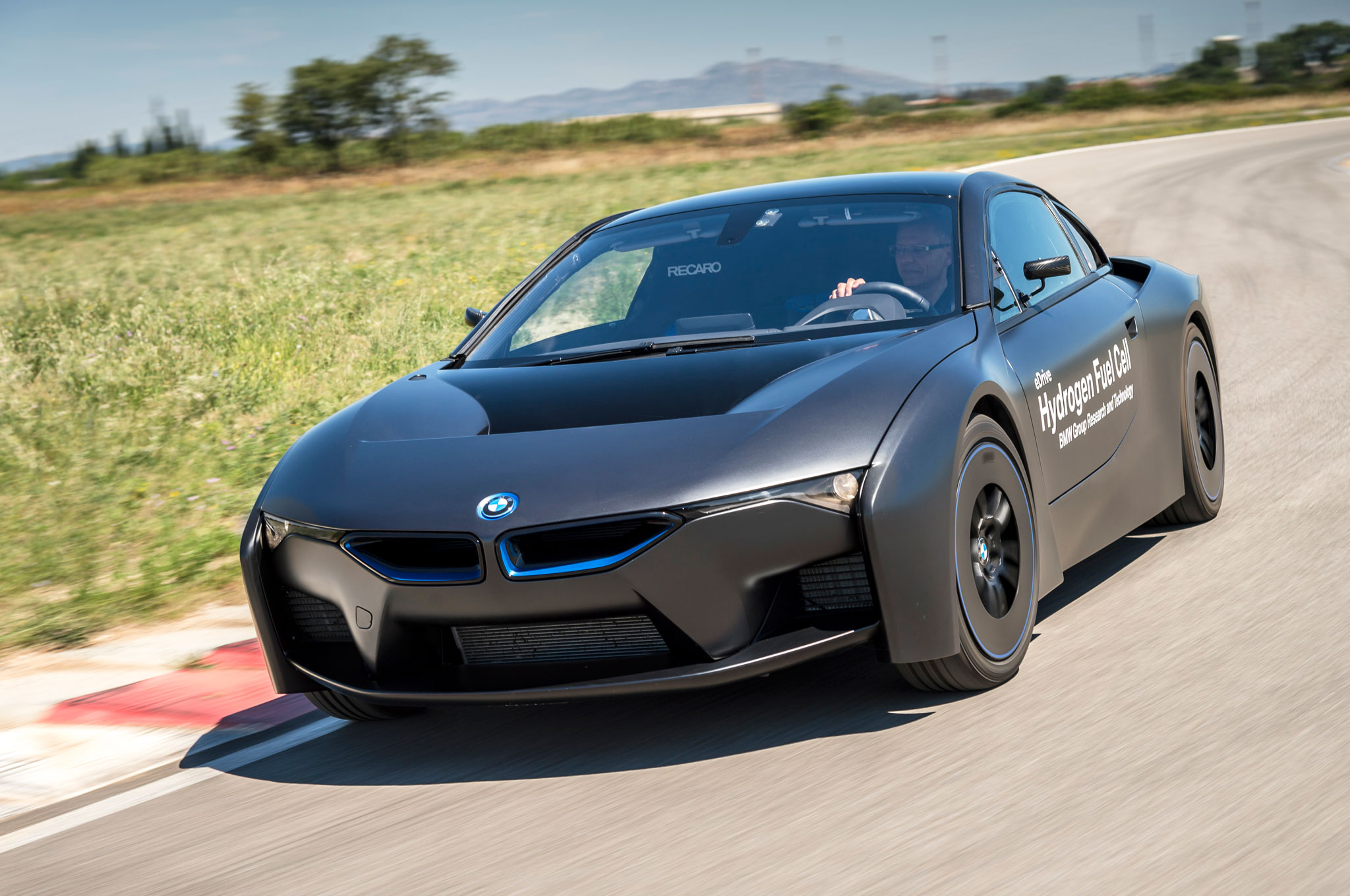 BMW Shows Off Fuel Cell Tech With Sinister-Looking i8-Based Test Car