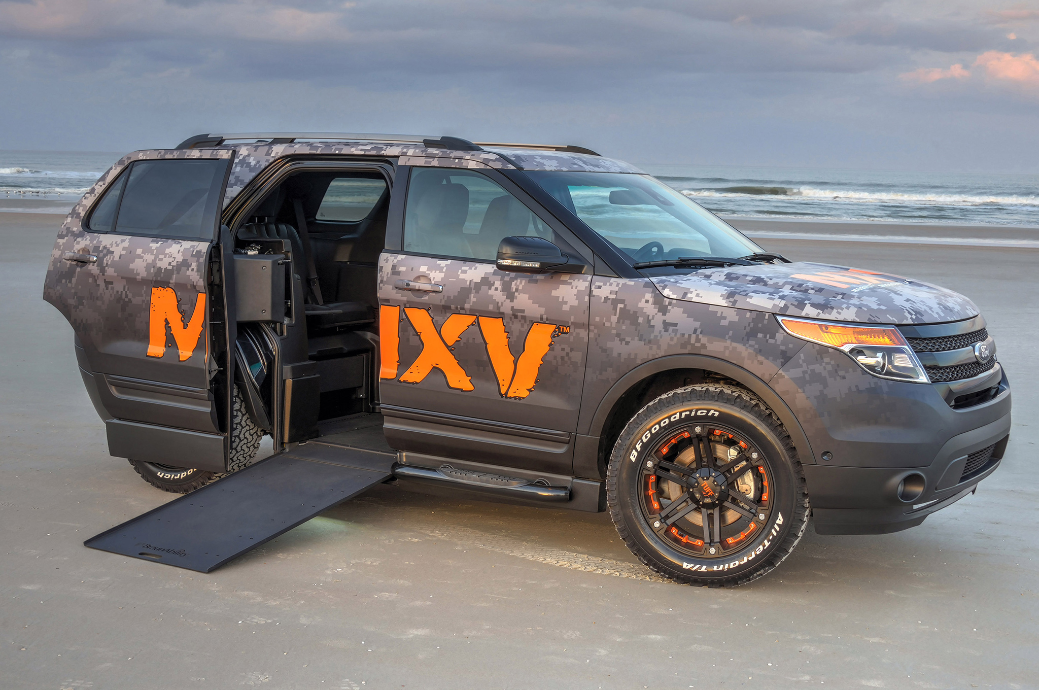 Braunability Uses Ford Explorer To Build Wheelchair Accessible Suv