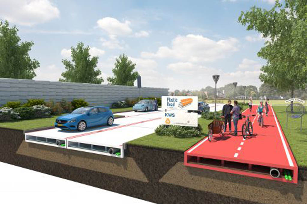 Plastic May Offer Sustainable Alternative to Road Construction