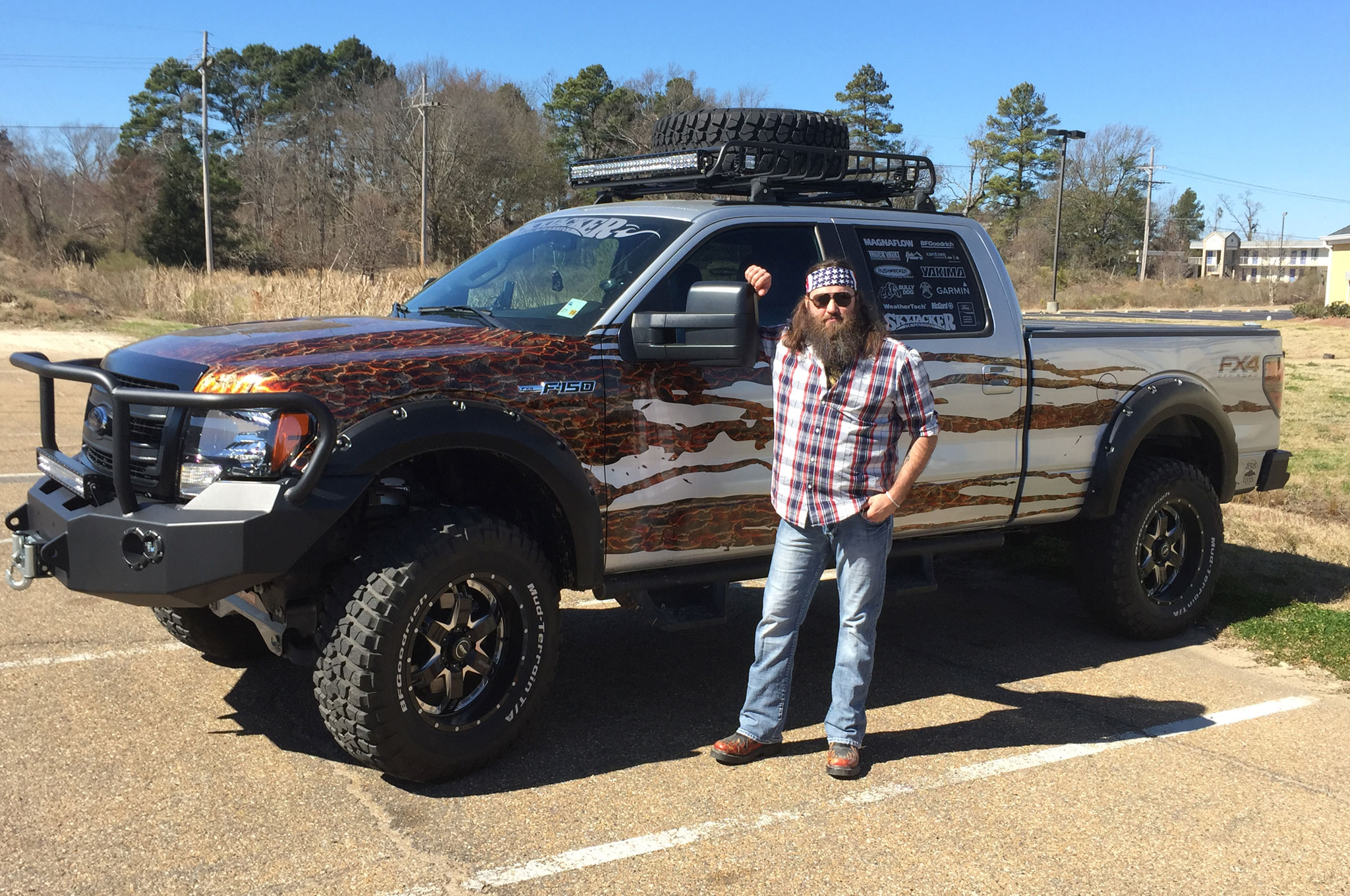 Celebrity Drive: 'Duck Dynasty' Star Willie Robertson - MotorTrend on dynasty modular homes, top gear mobile homes, duck commander mobile homes, sherlock mobile homes,