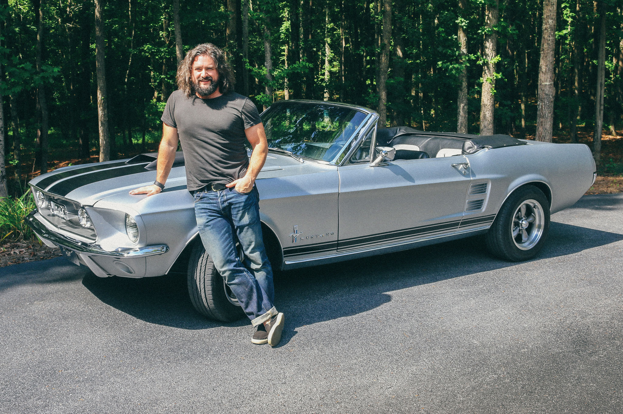Celebrity Drive Zac Brown Band Musician Clay Cook Motor Trend
