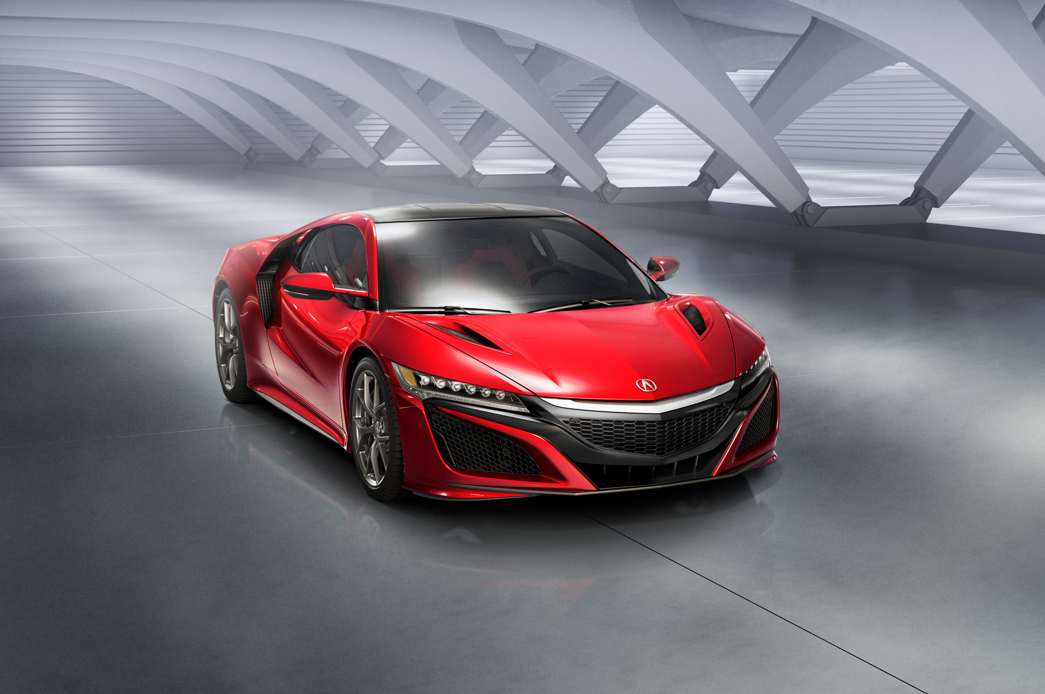 Hear the 2017 Acura NSX Rev Its Engine (W/Video)