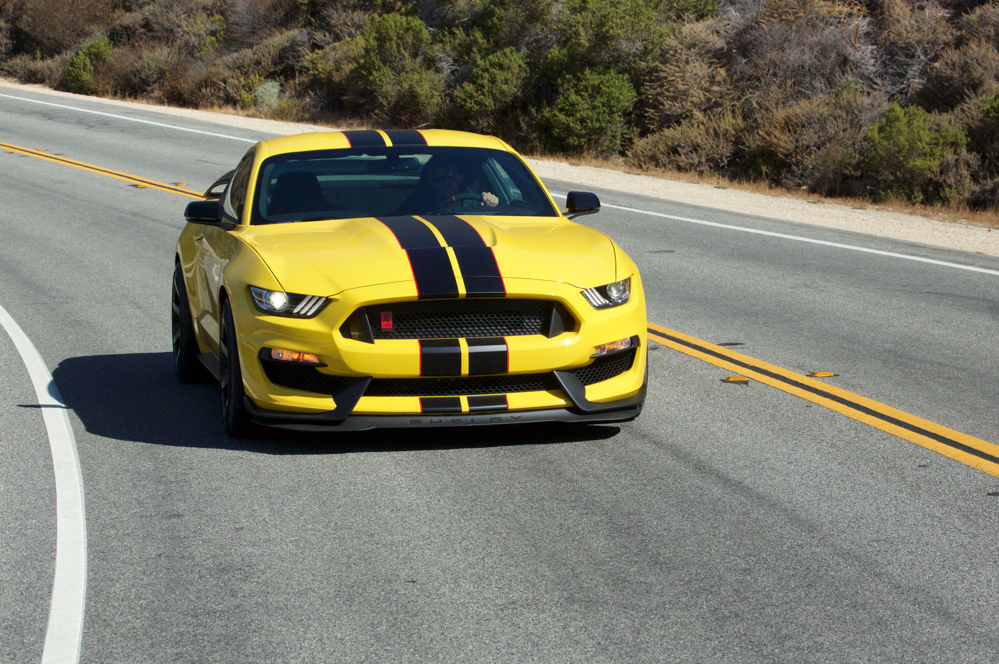 Gt350r Review >> 2016 Ford Shelby Gt350r Mustang First Drive Review Motortrend