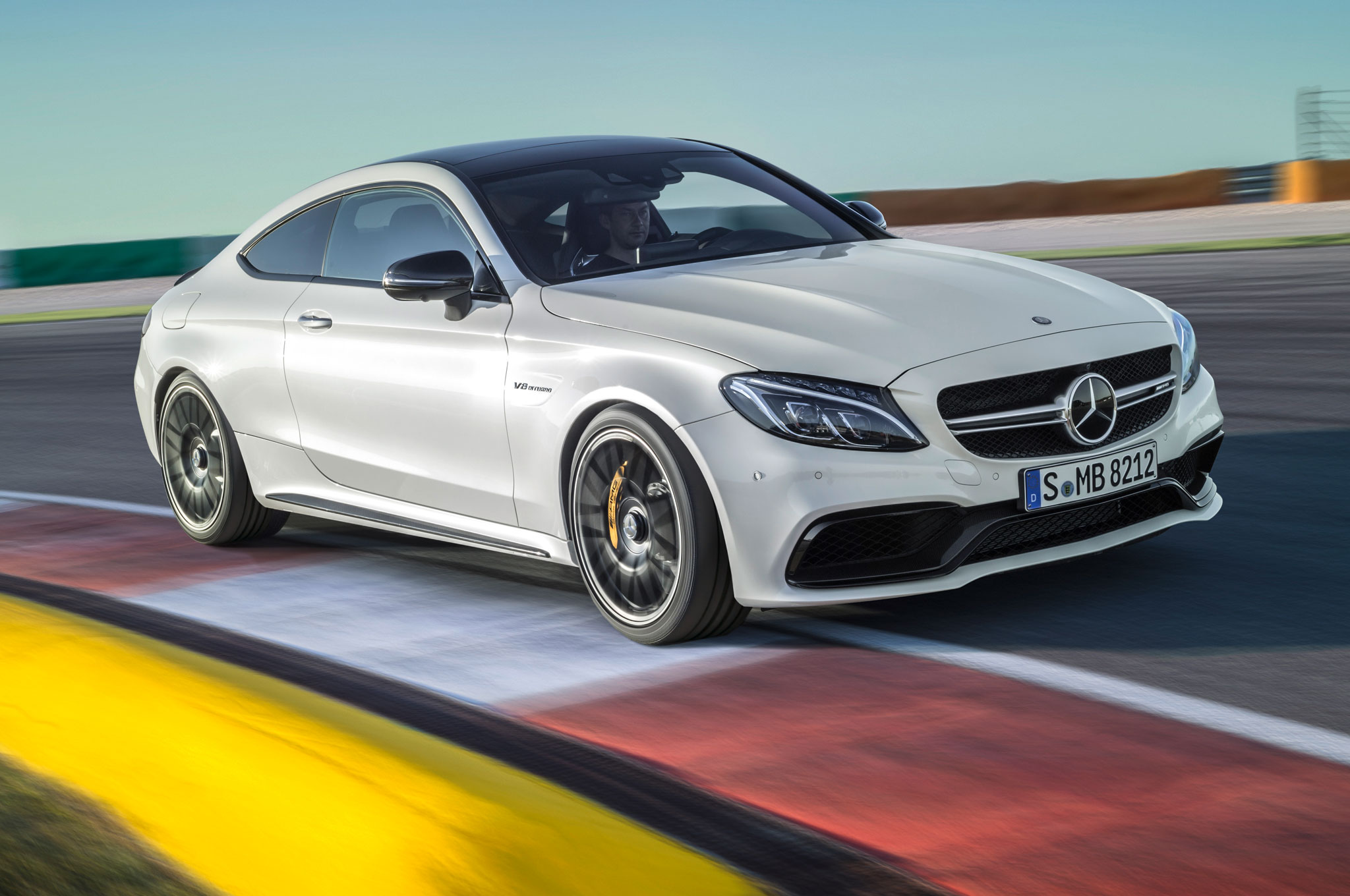 2017 Mercedes Amg C63 Coupe Is Quicker To 60 Than The Sedan Motor
