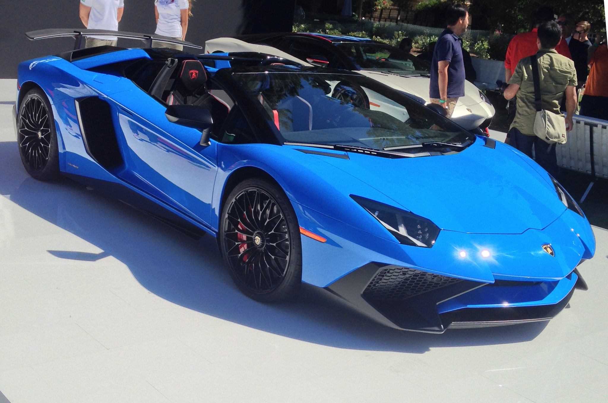 Lamborghini Aventador Sv Roadster Makes Stealth Debut In Monterey