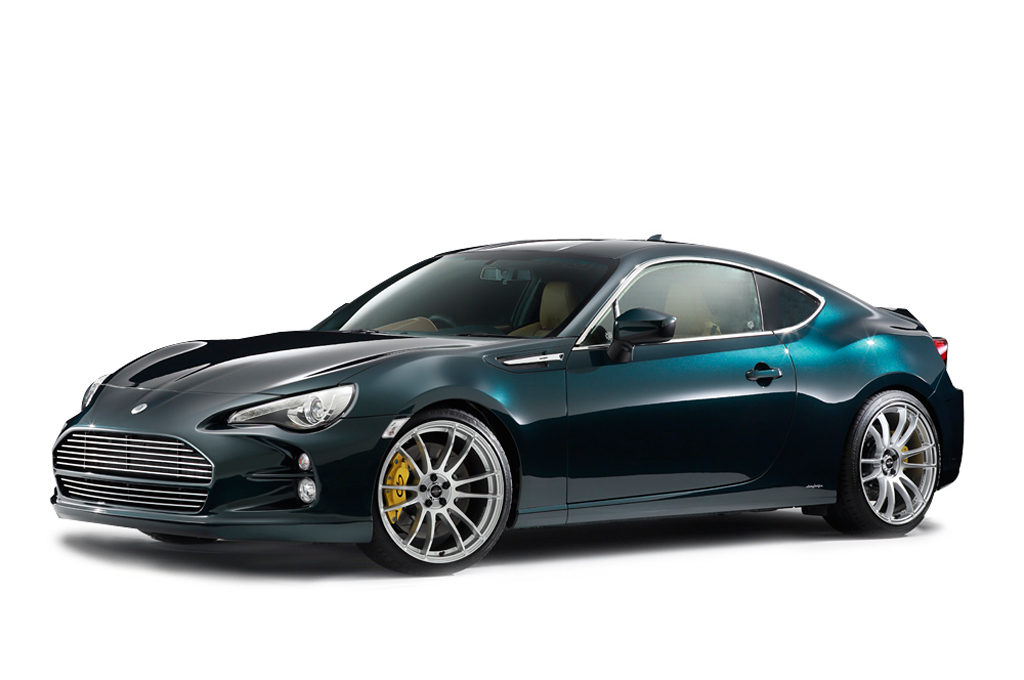 Wannabe Aston Martin is Really a Toyota GT86