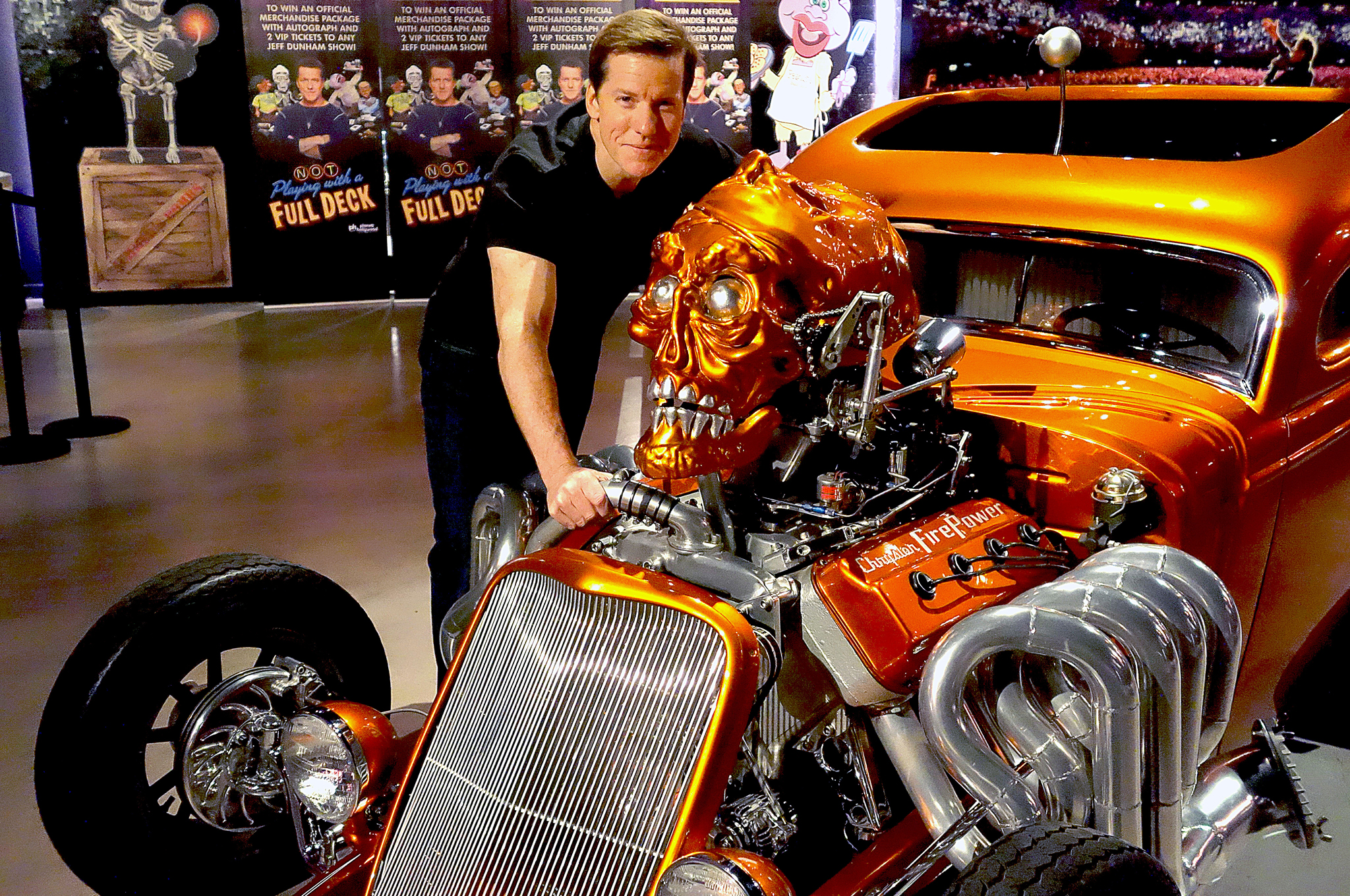 Celebrity Drive Comedian Jeff Dunham And His Cts V Wagon