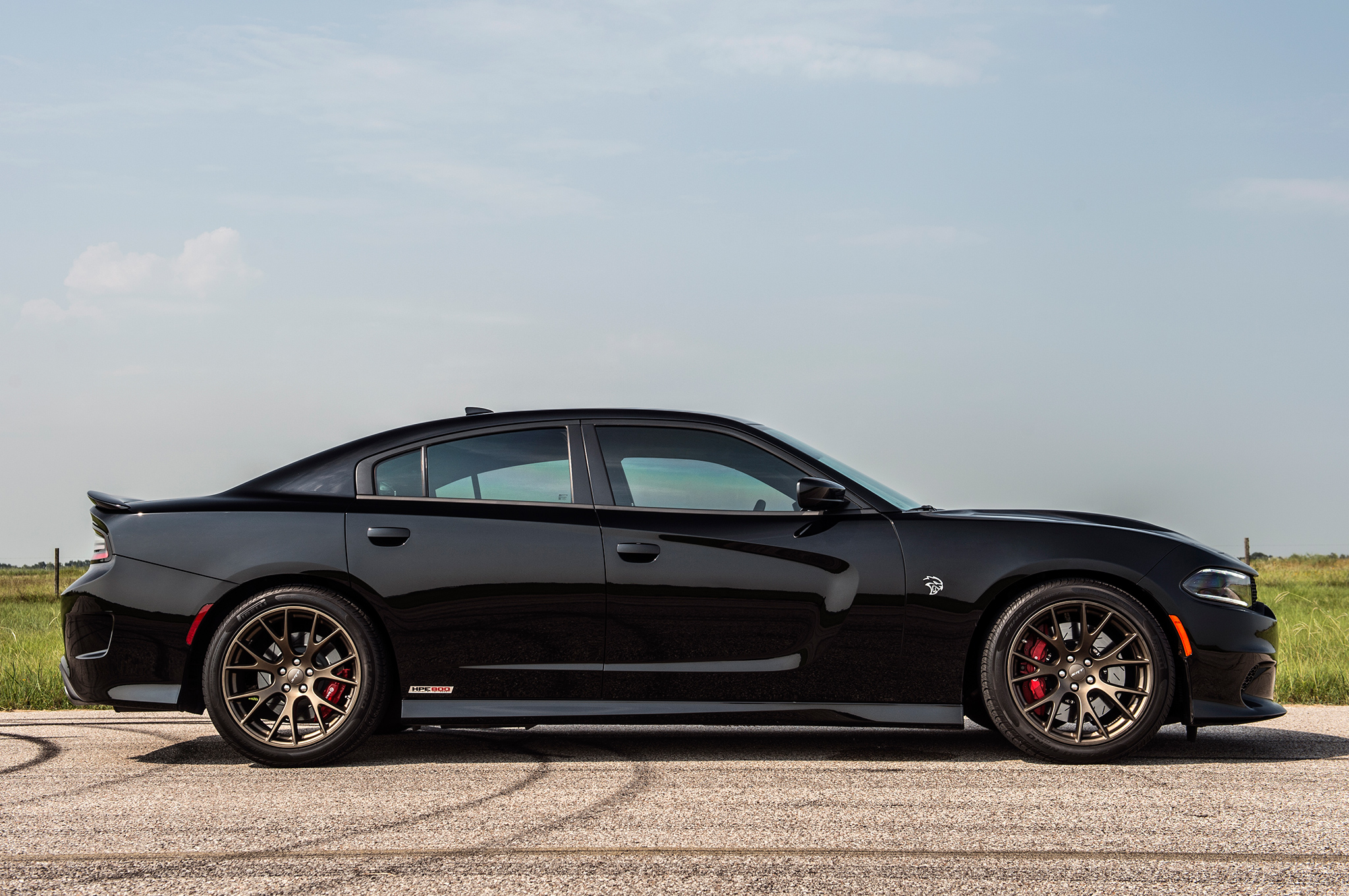 Hennessey's 852-hp Dodge Charger Hellcat Attacks Dyno