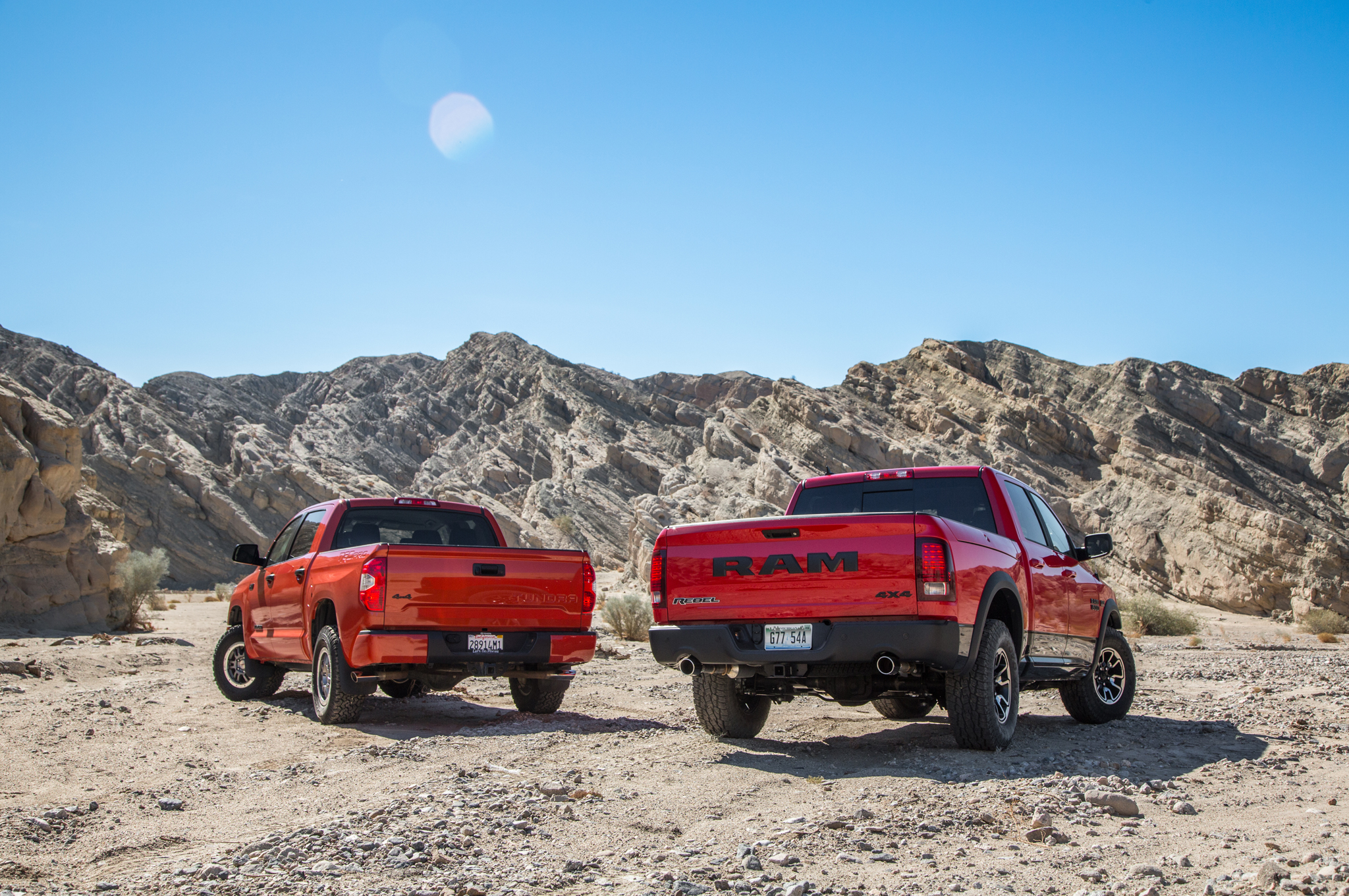 Simple 2015 Ram 1500 Rebel 4x4 Hemi Vs 2015 Toyota Tundra TRD