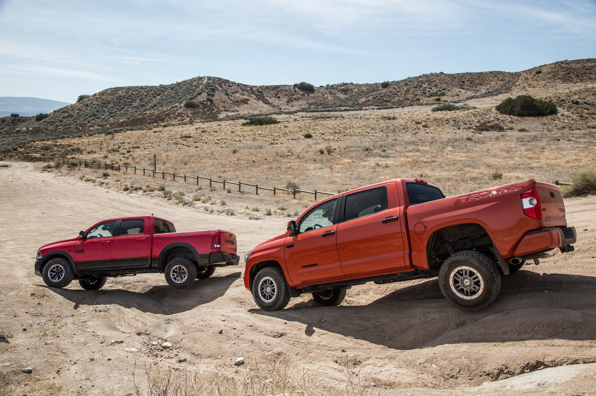 Wonderful 2015 Ram 1500 Rebel 4x4 Hemi Vs 2015 Toyota Tundra TRD