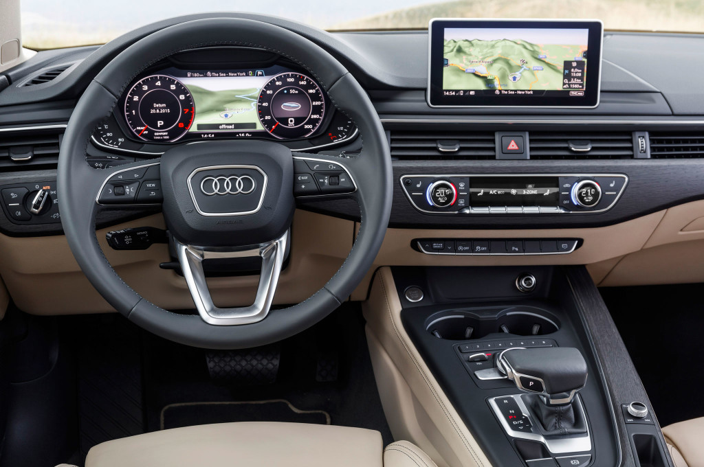 2017 audi a4 first drive review - motortrend