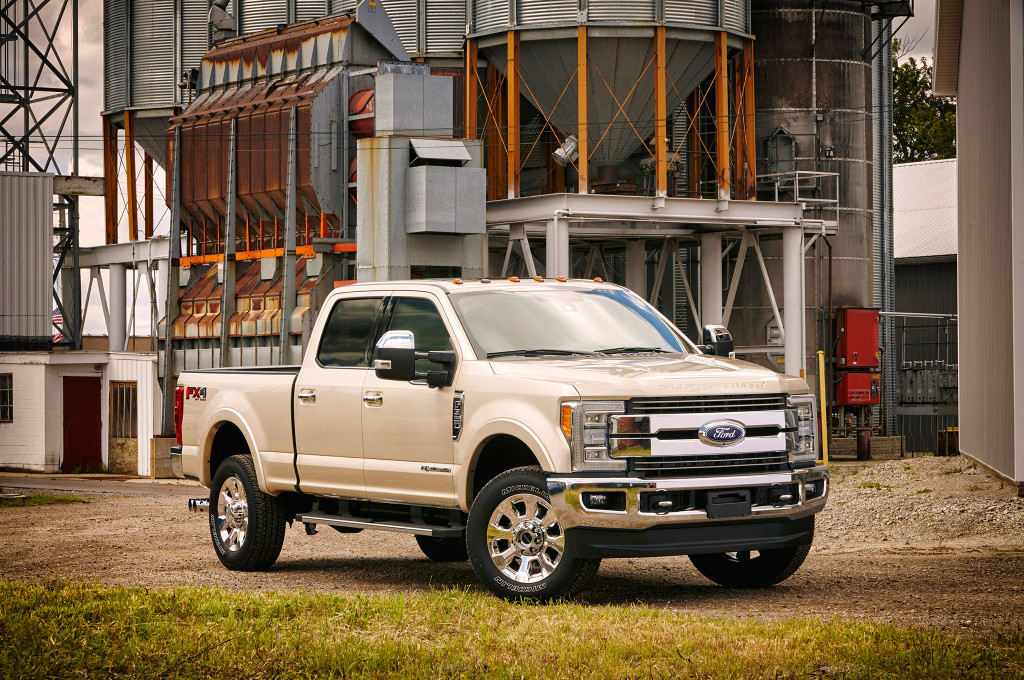 2017 Ford F-Series Super Duty First Look