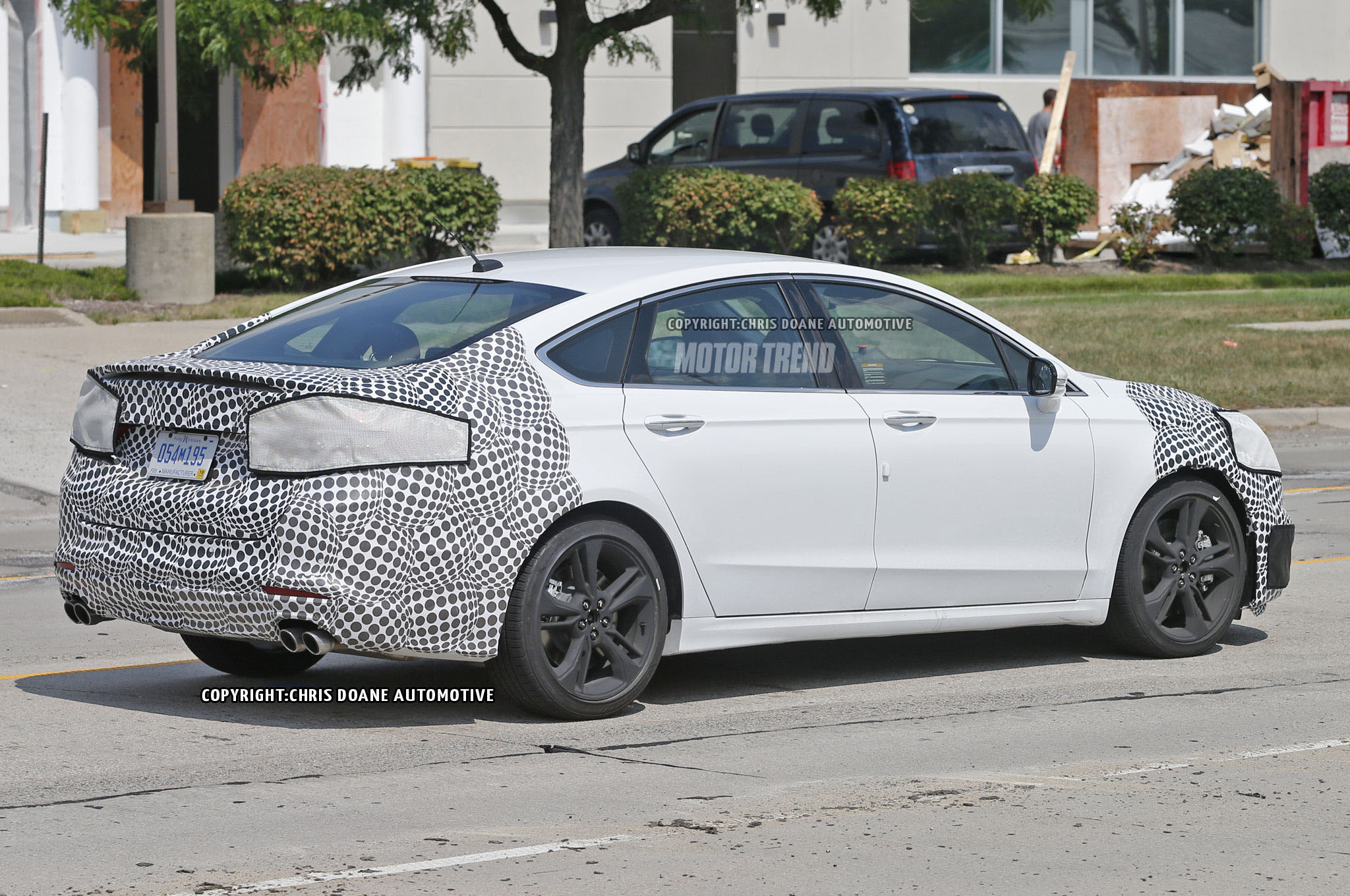 Ford Fusion St Spied With Quad Exhaust Motor Trend